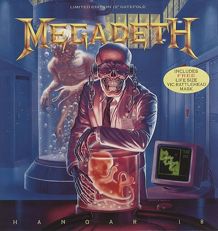Hanger 18 (Limited Edition 12 Gatefold EP w  Life Sized Vic Rattlehead Mask) [UK IMPORT] by Megadeth