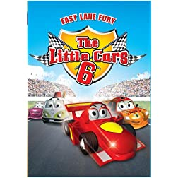 Little Cars 6, The: Fast Lane Fury (W/ Bonus Little Cars 1)