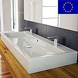 Design Waschbecken 100cm zur Wandmontage oder als...