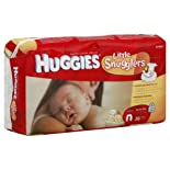 Huggies Supreme Little Snugglers Newborn Diapers, Size N (Up to 10 lb), Disney Baby, Jumbo, 36 ct.
