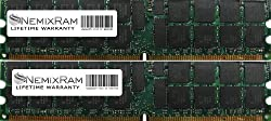 4GB (2X2GB) Nemix Ram Certified DDR2 ECC Memory for Dell Precision Workstation 470 470N 670 670N