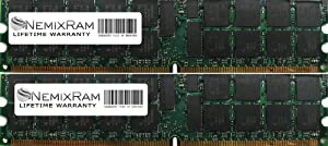 8GB (2X4GB) Nemix Ram Certified DDR3 VLP Memory for IBM BladeCenter Series PS702 8406