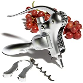 Pinzon Matte Chrome-Plated Corkscrew Set