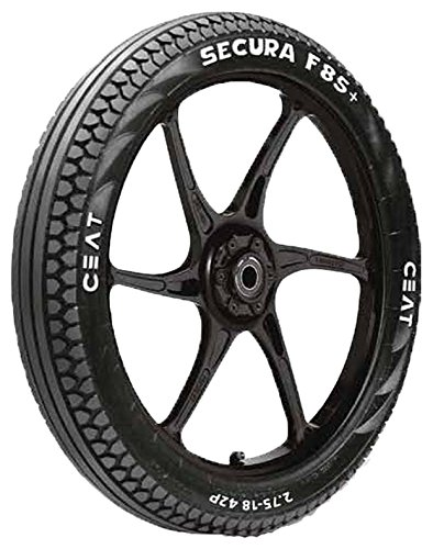 Ceat Gripp F 2.75-18 42P Tubeless Bike Tyre, Front