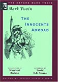 The Innocents Abroad (1869) (The Oxford Mark Twain) (0195114027) by Mark Twain