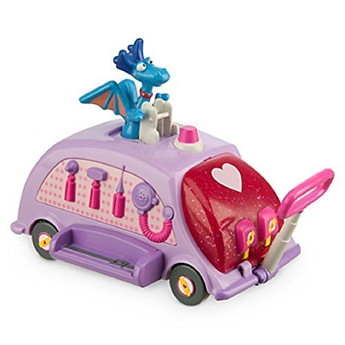 Disney Doc Mcstuffins Mobile Office Pullback Toy - 1