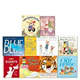 Michael Rosen Collection 10 Books Set, (We're Going on a Bear Hut, Blue, Tiny Little Fly, Happy Harry's Cafe, Little Rabbit Foo Foo, This is Our House, totally wonderful miss plumberry, red ted and the lost things, the number one!)