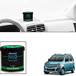 Vheelocityin Shalden Alpine Breeze Car Perfume Car Air Freshener for Maruti Suzuki Wagon R 1.0 Old