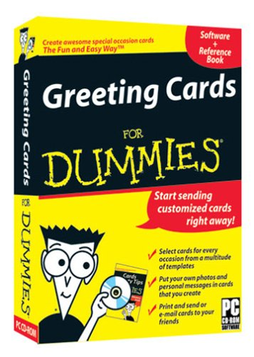 greeting cards for dummies software computer software