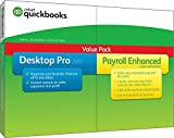 QuickBooks Desktop Pro 2017 with Payroll Enhanced Small Business Accounting Software [PC Disc]
