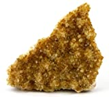 Crystal Allies Specimens: Natural Citrine Druze Cluster from Brazil - 1/2lb to 1lb