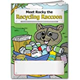 Meet Rocky the Recycling Raccoon Coloring and Activity Book Trade Show Giveaway