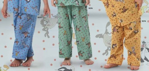 Fashion Seal - Unisex Child PJ Pants - Small
