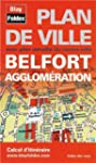 Plan de Belfort et de son agglom�ration