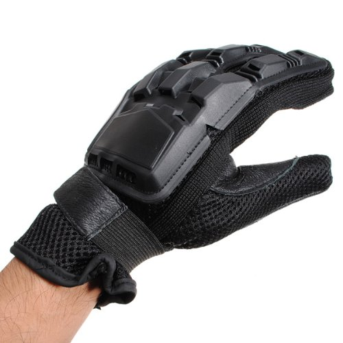 OutdoorABC Bike Camping Climbing Cycling Tactical Full Finger Airsoft Paintball Gear Gloves