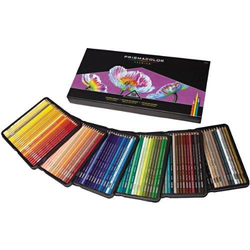 Prismacolor Premier Soft Core Colored Pencil, Set of 150 Assorted Colors (1800059)