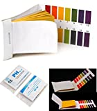 160 Tester Worthy Popular pH Test Strips Accurate Results 1-14 Paper Range Practical with Color Chart