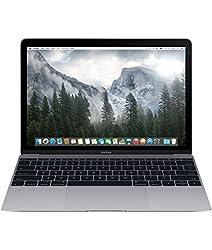Apple MacBook MJY32HN/A 12-inch Retina Display Laptop (Intel Core M/8GB/256GB/OS X Yosemite/Intel HD Graphics 5300), Space Grey