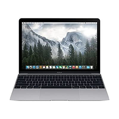 Apple MacBook MJY32HN/A 12-inch Retina Display Laptop (Intel Core M/8GB/256GB/OS X Yosemite/Intel HD Graphics...