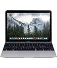 Apple MacBook MJY32HN/A 12-inch Retina Display Laptop (Intel Core M/8GB/256GB/OS X Yosemite/Intel HD Graphics 5300), Space Grey