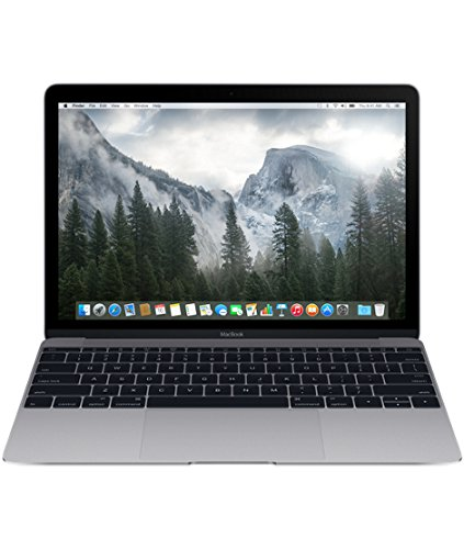 Apple MacBook MJY42HN/A 12-inch Retina Display Laptop (Intel Core M/8GB/512GB/OS X Yosemite/Intel HD Graphics 5300), Space Grey