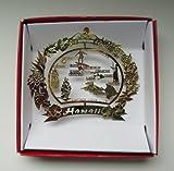 Hawaii Christmas ORNAMENT Hawaiian Island Travel Souvenir Gift