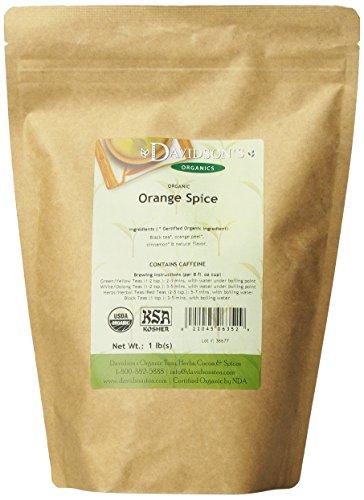 Davidson'S Tea Bulk, Orange Spice, 16-Ounce Bag