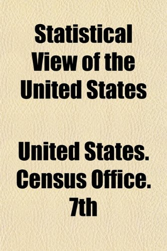 Statistical View of the United States