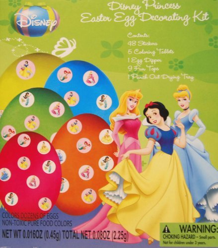 Disney Princess Easter Egg Decorating Kit - 1
