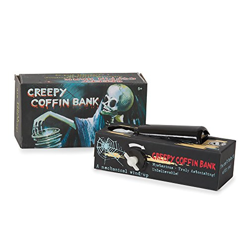 Creepy Coffin Novelty Money Bank - 1