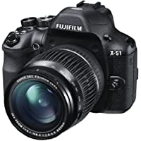 Fujifilm X-S1 12MP Point-and-Shoot Digital Camera (Black) with 4GB SD Card