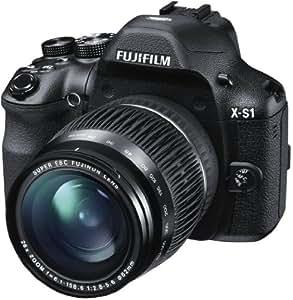 Fujifilm X-S1 Fotocamera Digitale 12 MP, Sensore CMOS EXR 2/3 Pollici, Zoom 26x 24-624 mm, Stabilizzatore Ottico