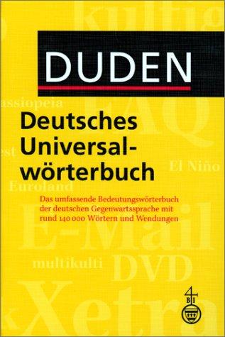 Deutsches Universalwörterbuch (German Edition), Duden