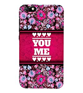 You Love Me 3D Hard Polycarbonate Designer Back Case Cover for Huawei Honor 4X :: Huawei Glory Play 4X