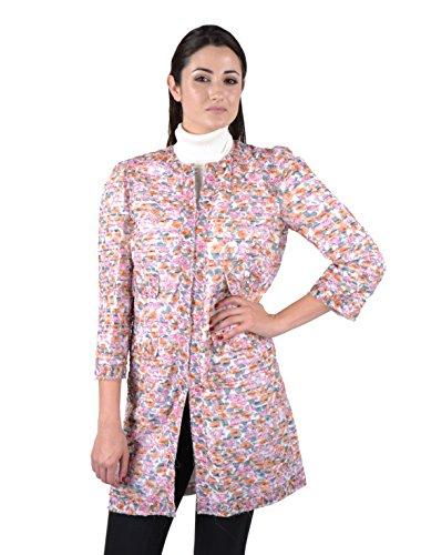 Dolce & Gabbana Womens Floral Silk Coat<br />