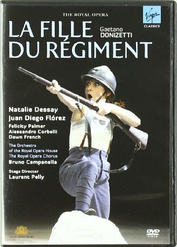 La Fille Du Regiment (Dessay- Juan diego Florez) - Donizetto - DVD