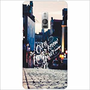 Oneplus 2 Back Cover - City Know Designer Cases