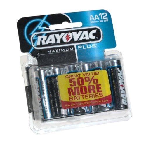 Rayovac 815-12C AA Alkaline Battery - 12 PackB0000A1R48 : image