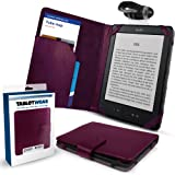 "New Kindle Purple SD Folio Case Cover Pouch , All - New Latest Generation 2011 Release Amazon Kindle 6"" inch Wi-Fi, from G-HUB"