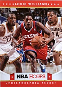2012-13 Panini Hoops #25 Lou Williams Trading Card in a Protective Case -... by Hoops