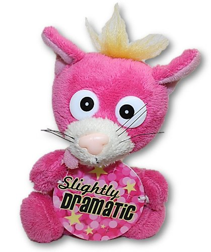 "Bobbin Buddies Plush Novelty Toys - ""Slighty Dramatic"" - 1"