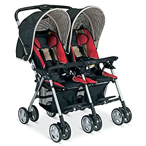 Combi Twin Savvy E, Red/Black/Beige (Discontinued by Manufacturer)