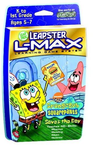 Leapster L-MAX SW Game: Sponge Bob(Lic.) - 1