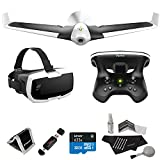 Parrot DISCO FPV with Skycontroller, Lexar 32GB, Polaroid Cleaning Kit, Ritz Gear Reader / Writer, Polaroid Memory Card Wallet and Accessory Bundle