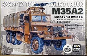 AFV Club Models 1/35 M35A2 A 1/2T Cargo Truck (Limited Re-Production)