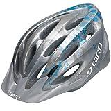 Giro Indicator Bike Helmet (Silver/Ice Blue Flowers , Universal Fit)