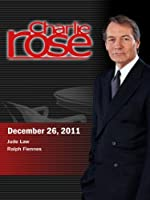 Charlie Rose - Jude Law / Ralph Fiennes (December 26, 2011)