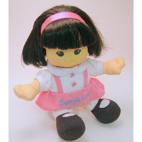 "Amazon.com: 10"" Fisher Price Little People Doll Sonya Lee"