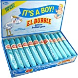 El Bubble It's A Boy Bubble Gum Cigars, Packages (Pack of 36) (Color: Blue)
