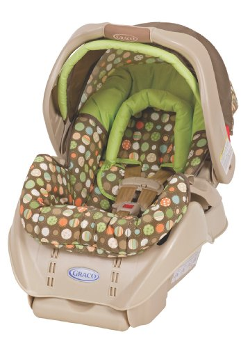Graco Snugride Infant Car Seat, Lively Dots